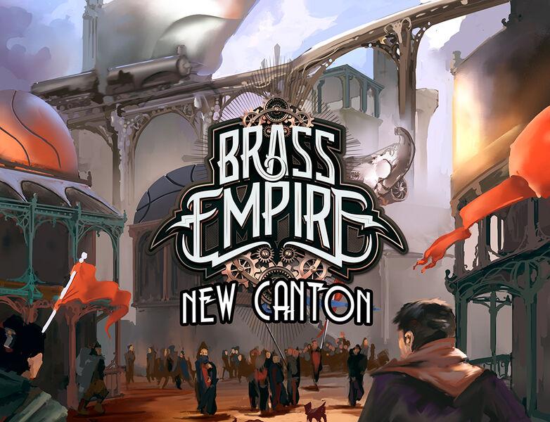 Canton Brass Empire New Canton Expansion Utvidelse til Brass Empire