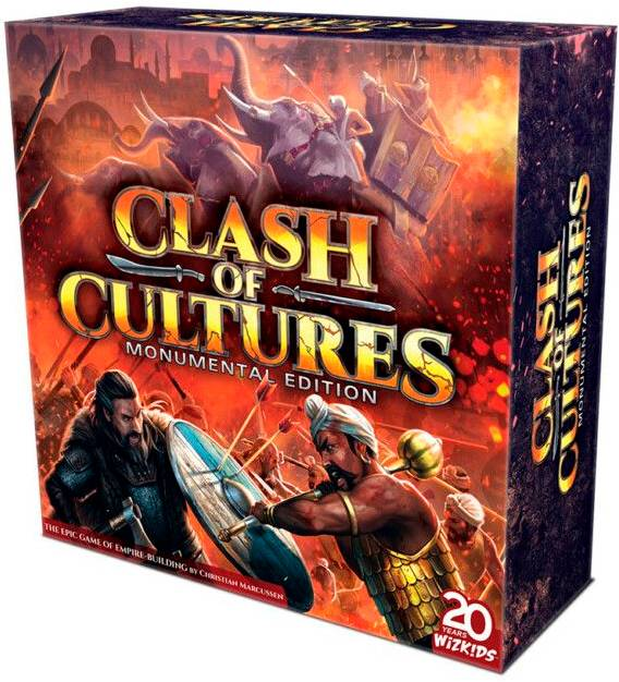 Clash of Cultures Monum. Ed Brettspill Monumental Edition