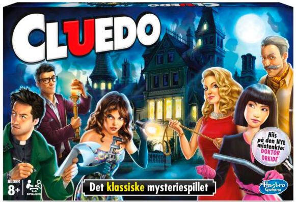 Cluedo Brettspill Norsk Inkluderer ny mistenkt Doktor Orkide