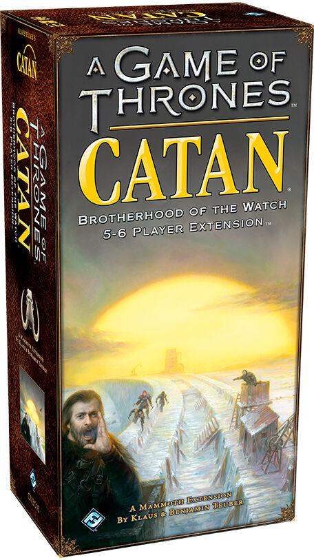 Catan A Game of Thrones 5-6 spillere Exp Utvidelse til Catan A Game of Thrones