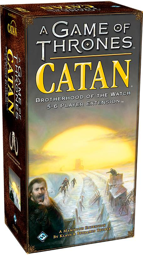 Catan A Game of Thrones 5-6 spillere Exp Utvidelse til Catan A Game of Thrones