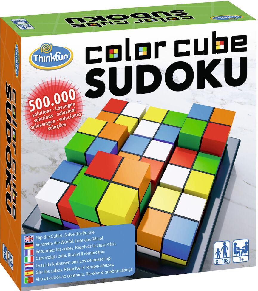 Cube Color Cube Sudoku Hjernetrim Brettspill