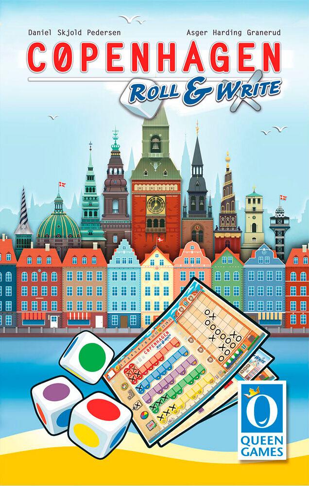 Copenhagen Roll & Write Brettspill