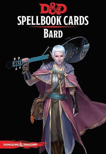 D&D Cards Spellbook Bard Dungeons & Dragons - 128 kort