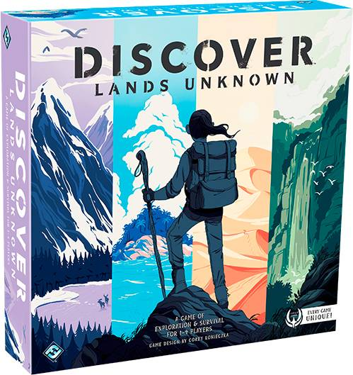 Discover Lands Unknown Brettspill