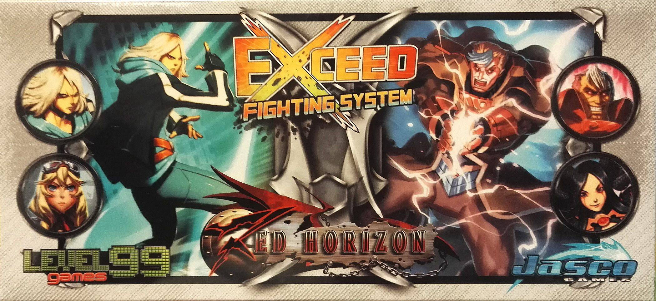 Vincent Exceed Red Horizon Reese Kortspill Reese/Heidi vs Vincent/Ne