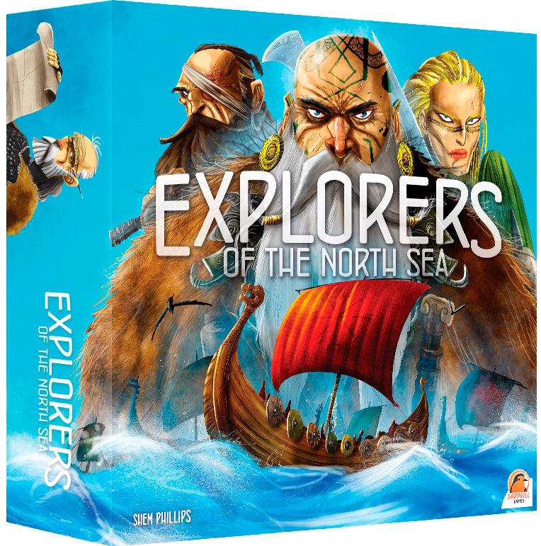 Explorers of the North Sea Brettspill