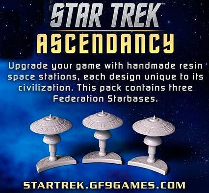 Star Trek Ascendancy Federation Starbase Utvidelse til Star Trek Ascendancy