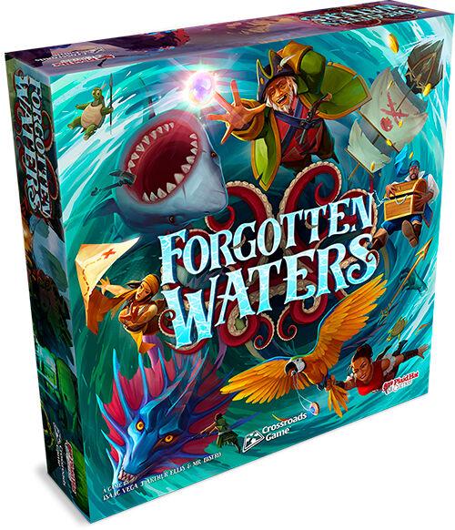 Forgotten Waters Brettspill A Crossroads Game