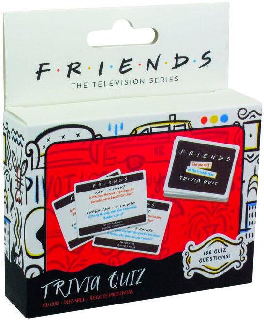 Friends Trivia Quiz Kortspill