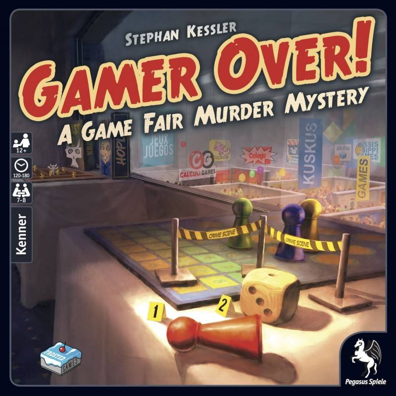 Game Over Brettspill