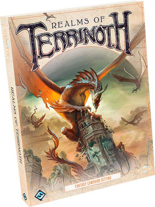 Genesys Terrinoth Realms of Terrinoth Fantasy Campaign Setting