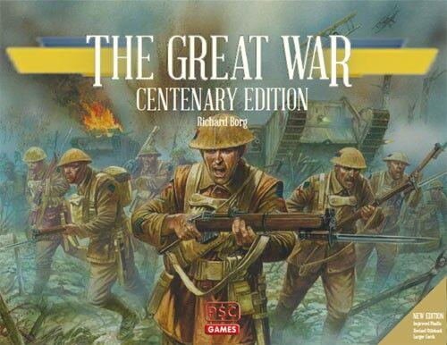 The Great War Centenary Ed. Brettspill Oppgradert 2018 utgave