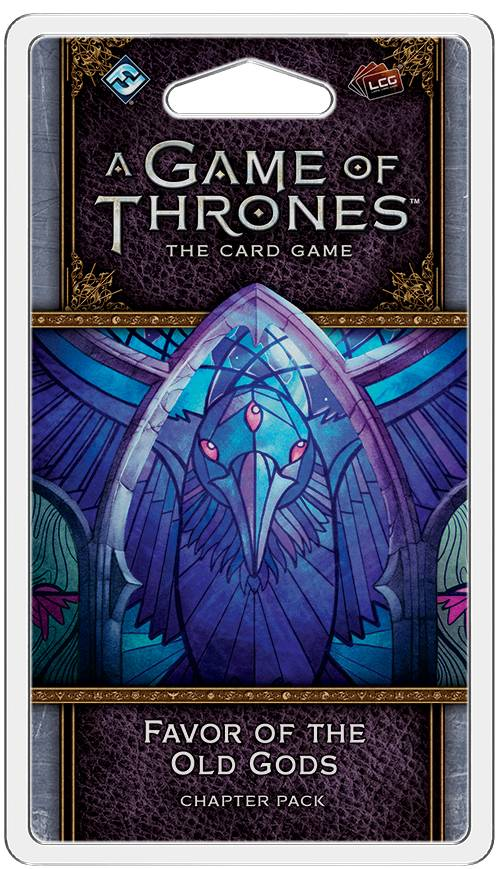 Game of Thrones TCG Favor of the Old God Utvidelse til Game of Thrones Card Game
