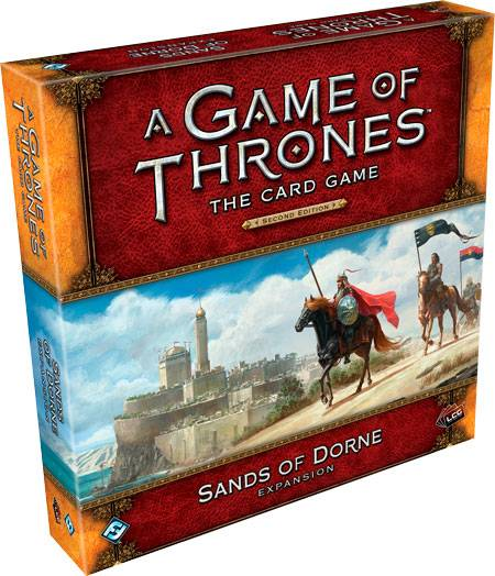 Game of Thrones TCG Sands of Dorne Exp Utvidelse til Game of Thrones Card Game