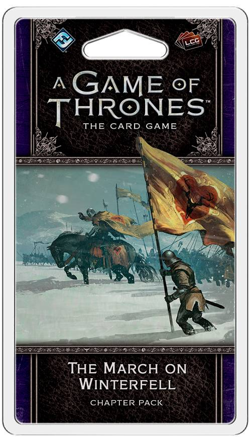 Game of Thrones TCG March on Winterfell Utvidelse til Game of Thrones Card Game