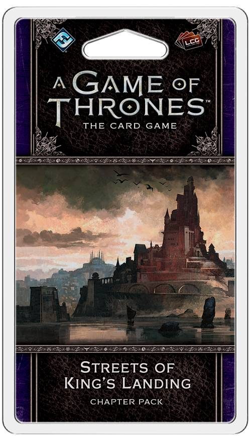 Game of Thrones TCG Streets of Kings Lan Utvidelse til Game of Thrones Card Game