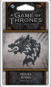 Game of Thrones TCG Stark Intro Deck House Stark - Ferdigbygget deck