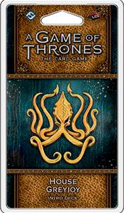 Game of Thrones TCG Greyjoy Intro Deck House Greyjoy - Ferdigbygget deck