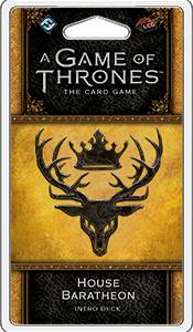 Game of Thrones TCG Baratheon Intro Deck House Baratheon - Ferdigbygget deck