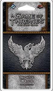 Game of Thrones TCG Nights Watch Intro D Intro Deck - Ferdigbygget deck