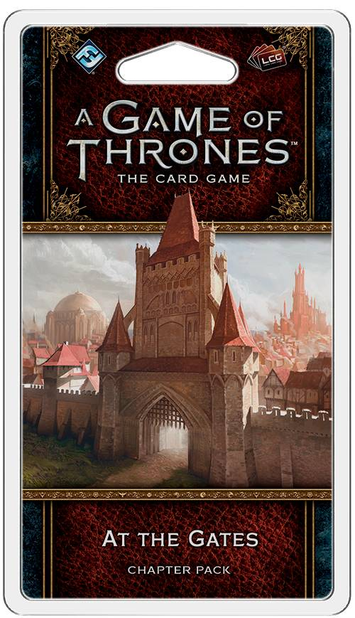 Game of Thrones TCG At the Gates Exp Utvidelse til Game of Thrones Card Game