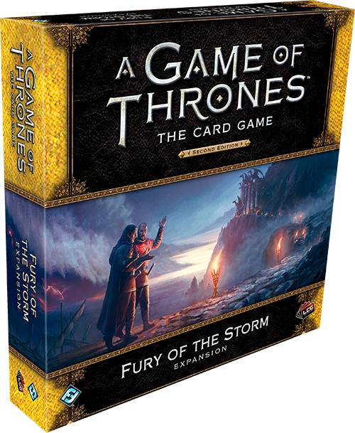 Game of Thrones TCG Fury of the Storm Utvidelse til Game of Thrones Card Game