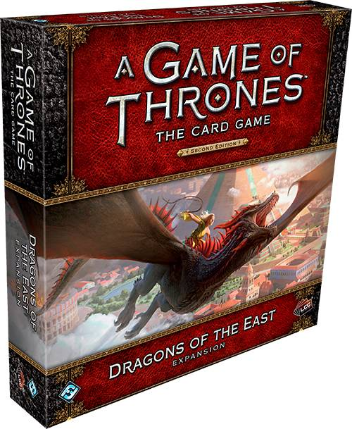 Game of Thrones TCG Dragons of the East Utvidelse til Game of Thrones Card Game