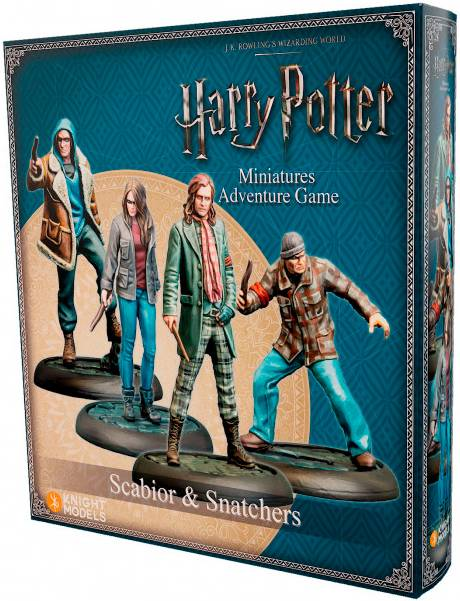 Harry Potter MG Scabior & Snatchers Exp Utvidelse Harry Potter Miniature Game