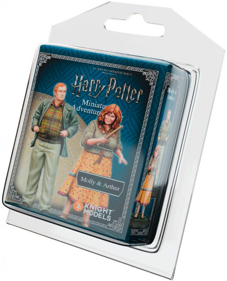 Harry Potter MG Molly & Arthur Weasley Utvidelse Harry Potter Miniature Game