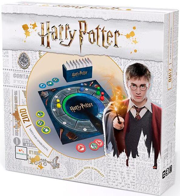 Harry Potter Quiz Norsk Brettspill Med 840 spørsmål