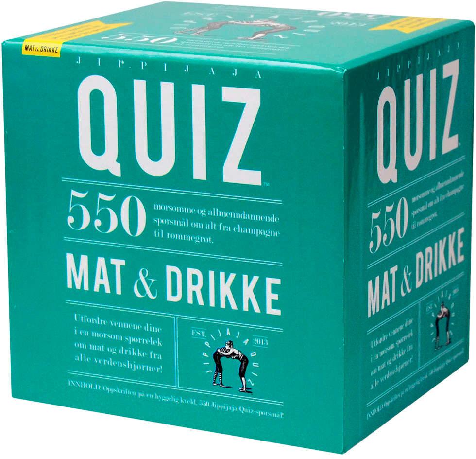 Jippijaja Quiz Mat & Drikke Kortspill
