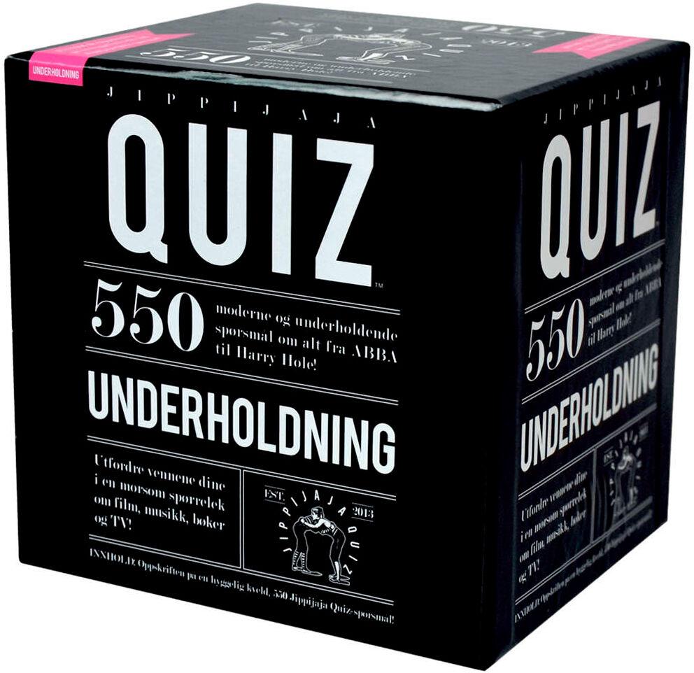 Jippijaja Quiz Underholdning Kortspill