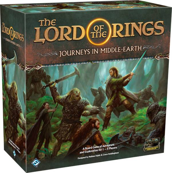 Lord of the Rings Journeys Brettspill Journeys in Middle-Earth
