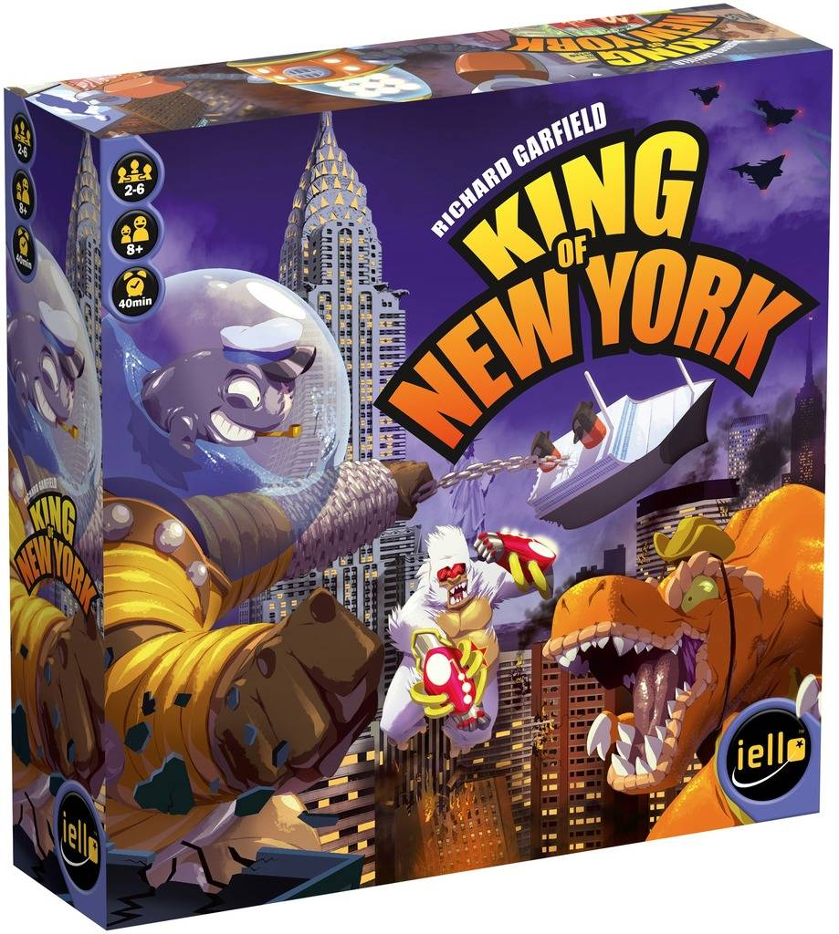 King of New York Brettspill - Norsk Kongen av New York