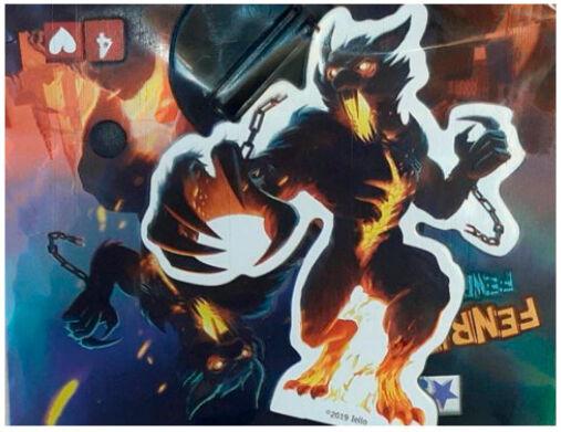 King of Tokyo Monster Pack Fenrir Exp Utvidelse til King of Tokyo