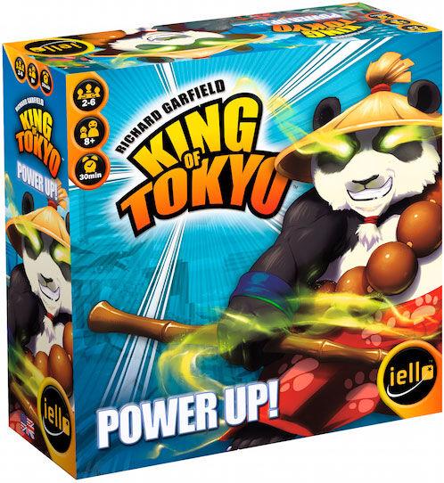 King of Tokyo Power Up Expansion 1 Tilleggspakke til Kongen av Tokyo