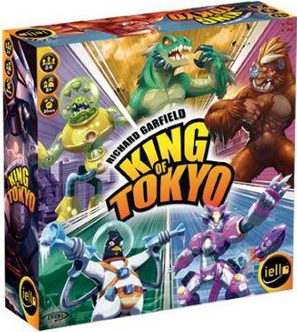 Kongen av Tokyo Brettspill Norsk Utgave King of Tokyo