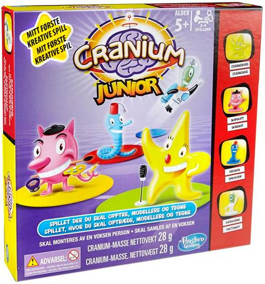 Cranium Junior Brettspill Norsk utgave