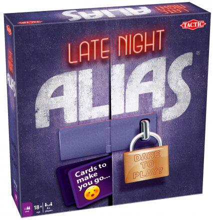Late Night Alias Brettspill Norsk utgave