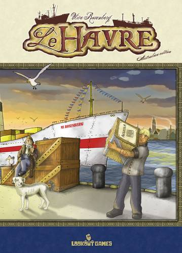 Le Havre Complete Edition Brettspill Inkl alle bonuskort + Le Grand Hameau
