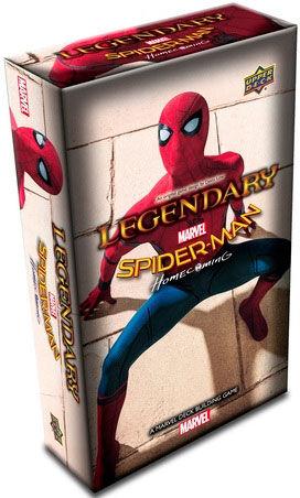 Legendary Spider-Man Homecoming Exp Utvidelse til Marvel Legendary