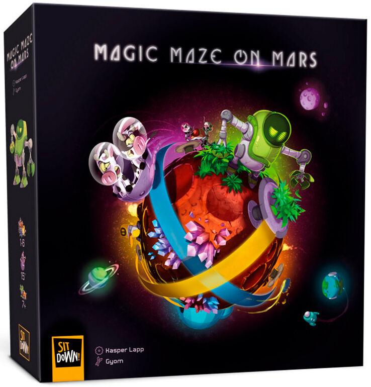 Maze Magic Maze On Mars Brettspill