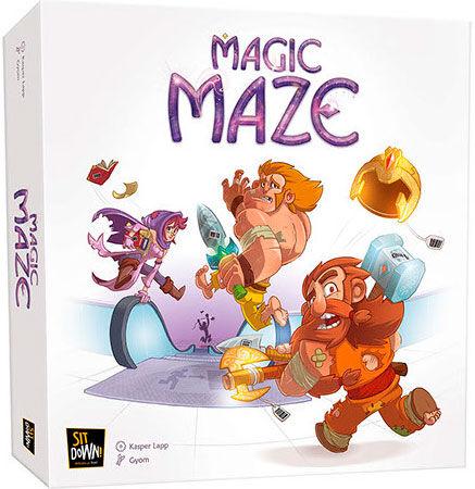 Maze Magic Maze Brettspill - Norsk