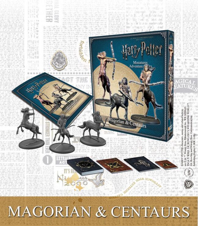 Harry Potter MG Magorian & Centaurs Exp Utvidelse Harry Potter Miniature Game