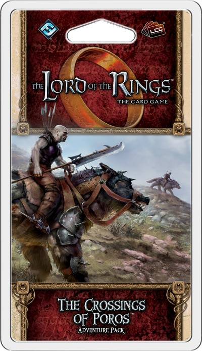 LotR TCG Crossing of Poros Expansion Lord of the Rings The Card Game
