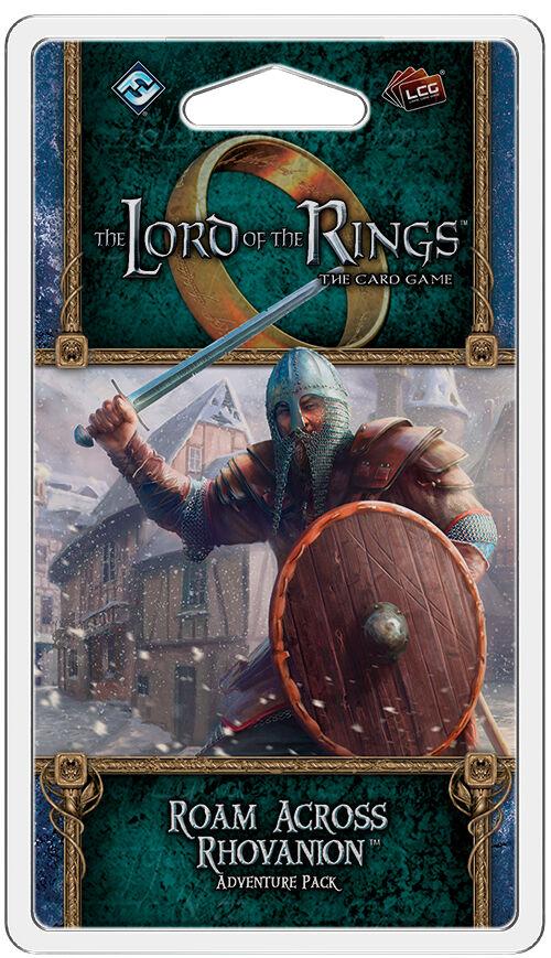 LotR TCG Roam Across Rhovanion Exp Utvidelse Lord of the Rings Card Game