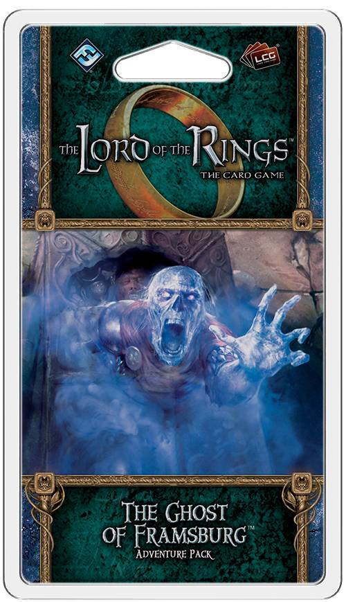 LotR TCG The Ghost of Framsburg Exp Utvidelse Lord of the Rings Card Game