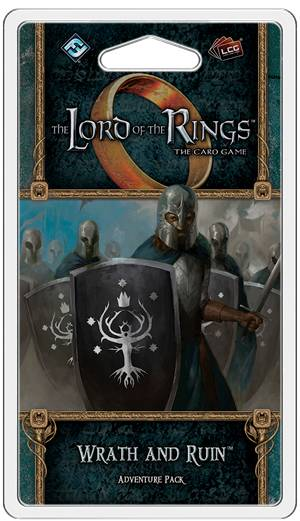 LotR TCG Wraith and Ruin Expansion Utvidelse Lord of the Rings Card Game