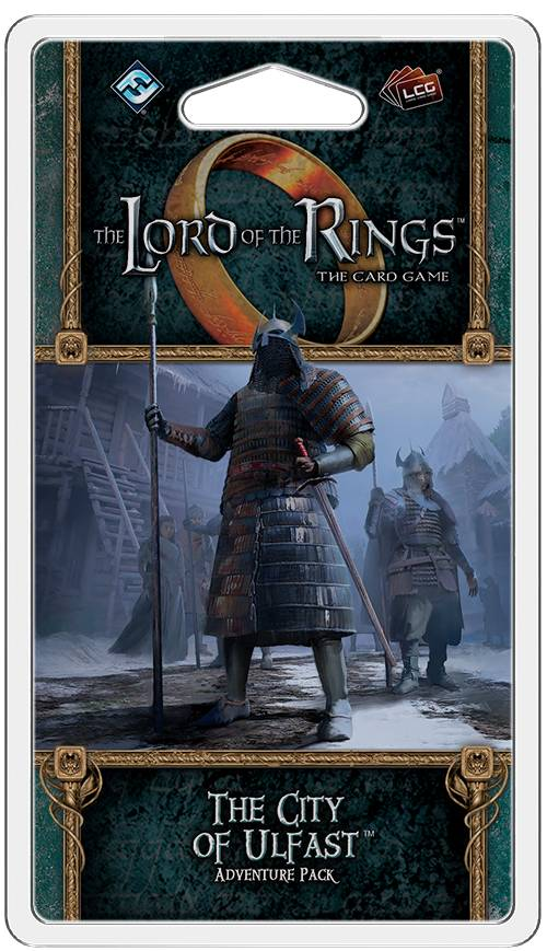 LotR TCG City of Ulfast Expansion Utvidelse Lord of the Rings Card Game